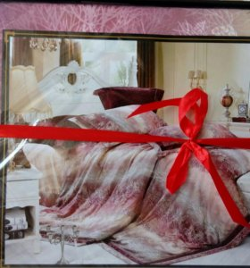 Комплект постельного белья Lily евро 6 предметов