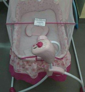 Электронная колыбель-качалка для новорожденного