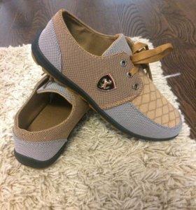 Летние мужские ботинки