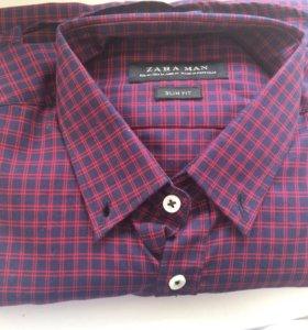 Мужская рубашка Zara, размер m