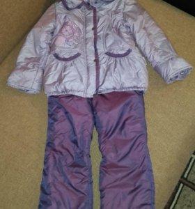 Комплект на девочку ( куртка + штаны)