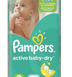 Pampers active baby-dry 3,5