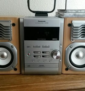 Стереосистема cd-mp3-cass Panasonic SA-PM9.