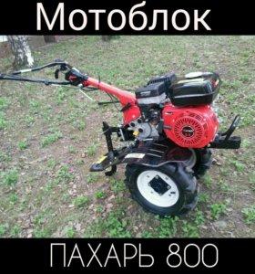 Бензиновый Мотоблок Пахарь