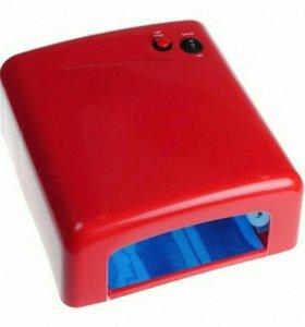 Новая УФ - лампа 818 36W глянцевая, разные цвета