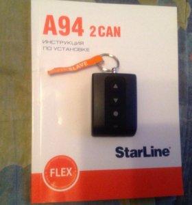 Новый брелок автосигнализации StarLine A94