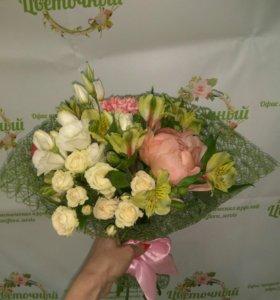 Цветочный офис продаж флористических изделий