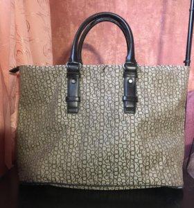 Большая сумка Calvin Klein оригинал