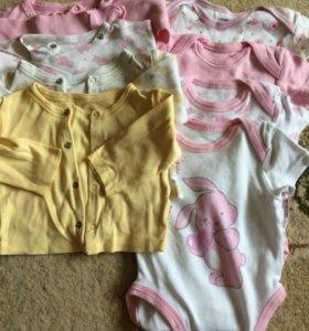 Одежда BARQUITO для девочки(пакетом)62см