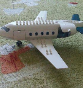 Самолет лего дупло