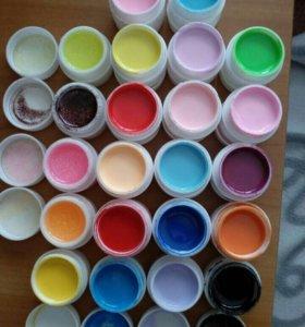 Цветные гели 21шт.
