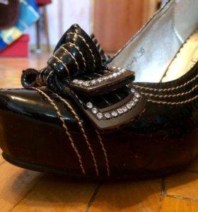 Модные удобные туфли