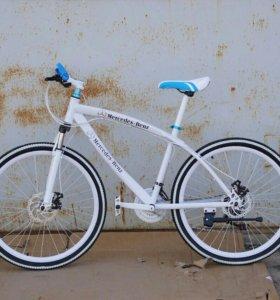 Новый велосипед mercedes-benz