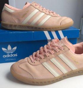 Adidas Hamburg светло-розовые