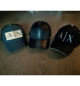 Мужские кепки брендов AX,PP.