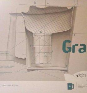 Новый Кувшин - фильтр Граф с картриджем(в коробке)