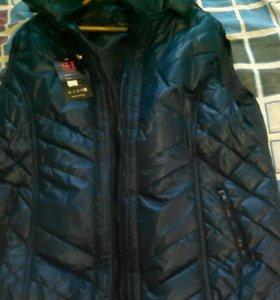 Жилетка женская размер 62, куртка подростковая