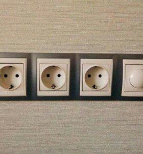Электрик,ремонт всего
