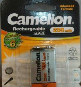 Аккумулятор крона 9В Camelion 250mAh