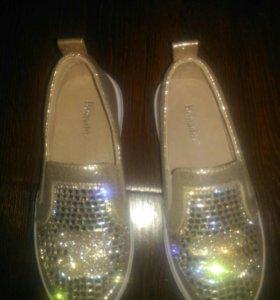 Слипоны, ботинки, кеды