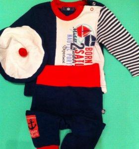 Детский костюм+ берет Торг