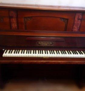 """Старинное немецкое фортепиано """"Kellberg & Co"""""""