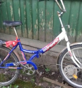 Велосипед синий2000р.велосипед чёрный скоросной 7т