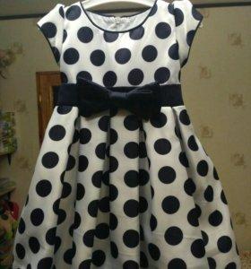 Красивое платье+шляпа 98-104р