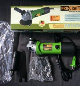 Болгарка (ушм) Procraft 1350E