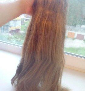 Волосы -заколка