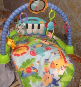 Развивающий коврик,ванночка,конверт,костюмчик