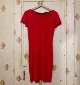 🍊46 Мандариновое платье