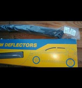 Дверные дефлекторы-ветровики(Лачети.