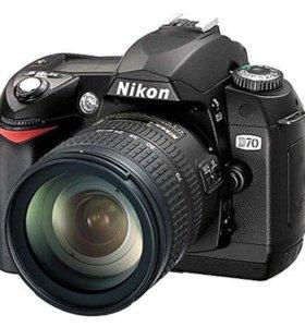 фотоаппарат Nikon d70