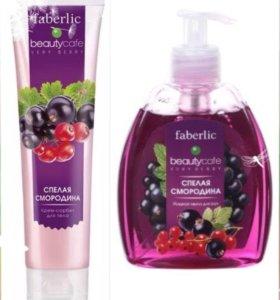 Набор жидкое мыло и крем для тела Faberlic