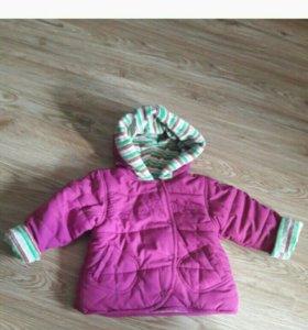 Продам курточки для девочки на холодное л