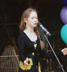 Певица с образованием на свадьбу , юбилей, день ро