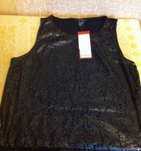 Блузка из ЭКО кожи