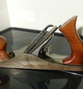 Рубанок ручной стальной из СССР