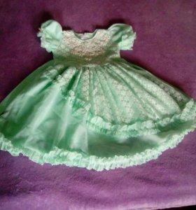 Платье на девочку 4,5 лет