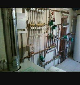 Сантехника водопровод канализация отопление