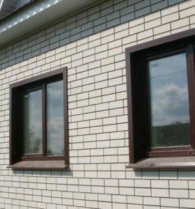 Окна, балконные рамы, перегородки, витражи.