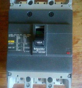 Автоматический выключатель schneider 160A