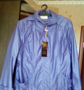 Новая куртка весна