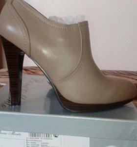Ботинки женские. Новые