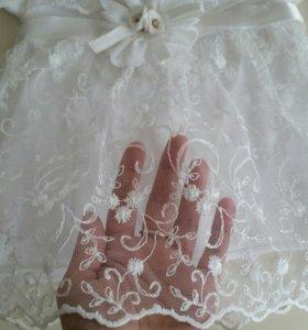 Платье и пинетки