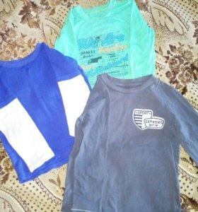 Три футболки дл. рукав