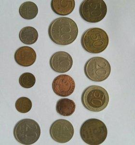 Монеты СССР и России.....