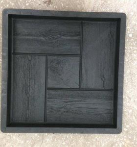 Форма для изготовления тратуарной плитки