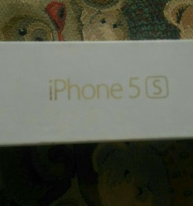 IPhone 5s gold коpoбка
